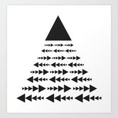 link und wachsend Art Print
