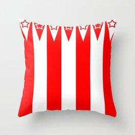 Big Top Stripes Throw Pillow