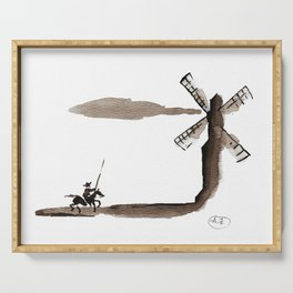 Don Quixote de la Mancha Serving Tray