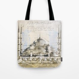 Blue Mosque, Istanbul Turkey Tote Bag