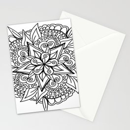 Color It, Paint It, Own It | DIY | Boho | Mandala | Family Fun Stationery Cards