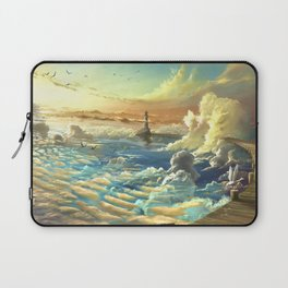 on shore of the sky Laptop Sleeve