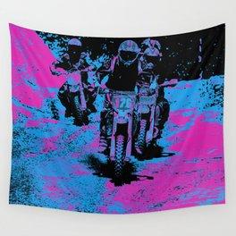 """Born to Race"" Motocross Dirt-Bike Champion Racer Wall Tapestry"