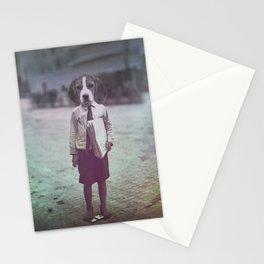 Beagle Boy Stationery Cards