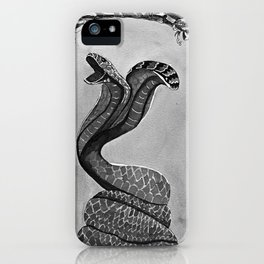 Two headed snake iPhone Case