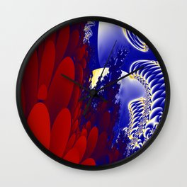 A garden of good and evil. Wall Clock