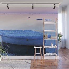 Ice Raft at Dusk on Calm Seas Wall Mural