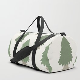 Cut your own Christmas tree (Patterns Please) Duffle Bag