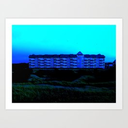 House of Blue Art Print