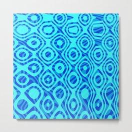 Mixed Polyps Blue - Coral Reef Series 036 Metal Print