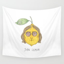 John Lemon Wall Tapestry