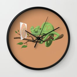 Can't See It Myself (Colour) Wall Clock