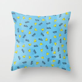 WHAT THE DUCK Throw Pillow