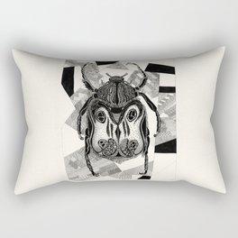 Doodle Beetle Rectangular Pillow