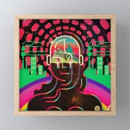 Gaia's Dome Framed Mini Art Print