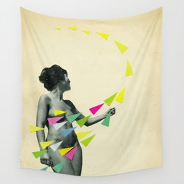 She's a Whirlwind Wall Tapestry