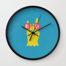 Soft Metal Wall Clock