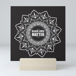 Donating all sales to For The Gworls, supporting Black Trans Folks. Black Lives Matter. Mini Art Print