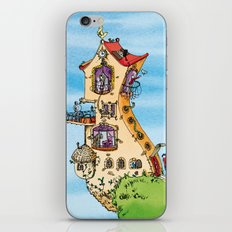Maison du bonheur iPhone & iPod Skin