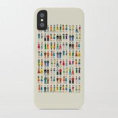 Identical Twins iPhone X Slim Case