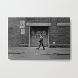 One Way - Street Photography in Melbourne Metal Print