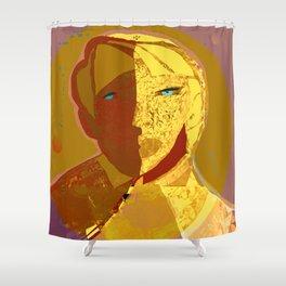 Mars and Venus Shower Curtain