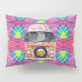 Groovy Hippie Van Pillow Sham