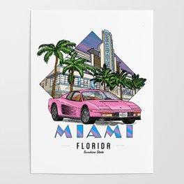 Miami, bedrock of diversity! Poster