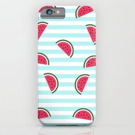 Watermelon pattern iPhone Case