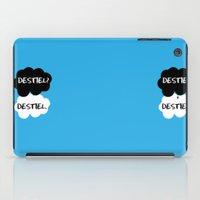 destiel iPad Cases featuring Destiel - TFIOS by downeymore