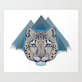 Can You See Meow? Art Print