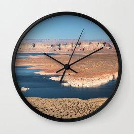 Wahweap Bay, Glen Canyon National Recreation Area, Page, Arizona Wall Clock