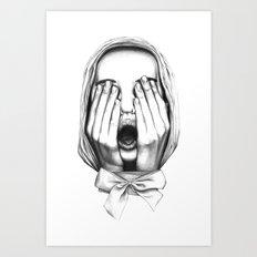 Sorpresa Art Print