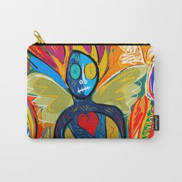 Young Soul and Pure Heart Street Art Graffiti Carry-All Pouch