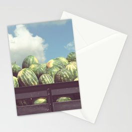 watermelons, immokalee Stationery Cards