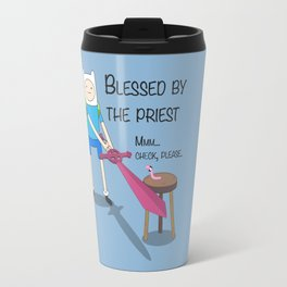 Blessed by the Priest Travel Mug