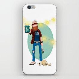The Austin Yeti iPhone Skin