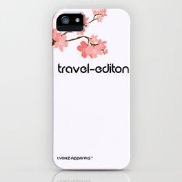 Beautiful travel iPhone Case