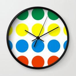 Stretch Dot Game Wall Clock