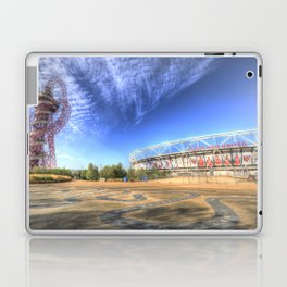 West Ham Olympic Stadium And The Arcelormittal Orbit  Laptop & iPad Skin