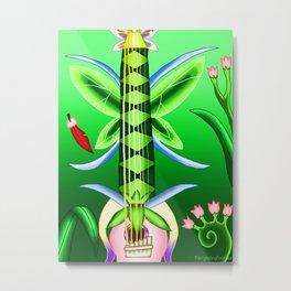 Fusion Keyblade Guitar #81 - Pixie Petal & Fairy Harp Metal Print
