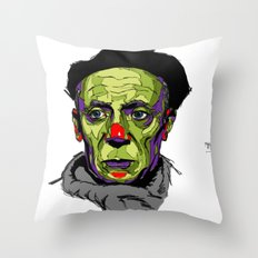 P. Picasso Throw Pillow