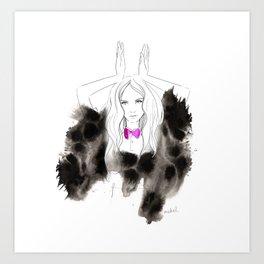 I'm a bunny Art Print