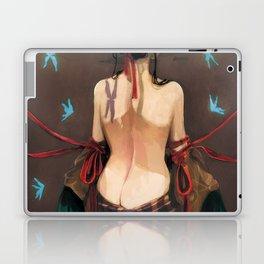 Geisha de dos. Laptop & iPad Skin