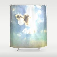 serenity Shower Curtains featuring SERENITY by Chrisb Marquez