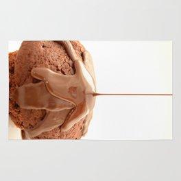 chocolate muffin Rug