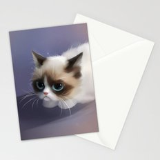 little grumpy things Stationery Cards