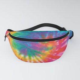 Rainbow Tie Dye Swirls Fanny Pack