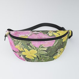 Petunias and Violas Fanny Pack