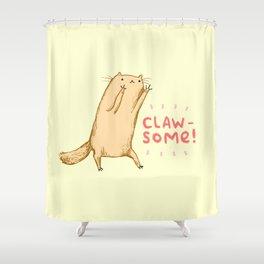 Clawsome! Shower Curtain